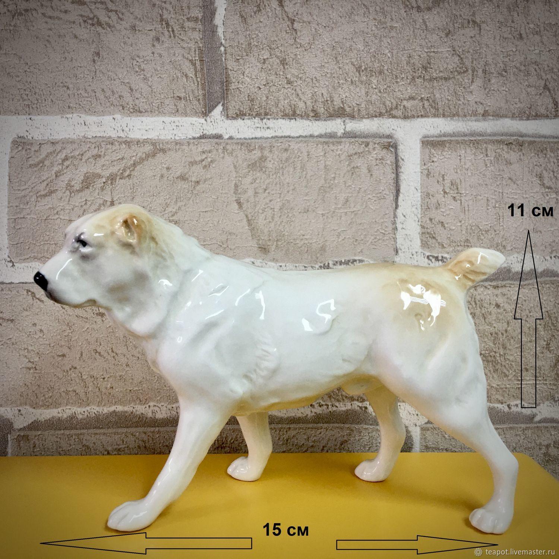 Алабай (среднеазиатская овчарка): авторская статуэтка, Статуэтки, Москва,  Фото №1