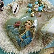 """Украшения ручной работы. Ярмарка Мастеров - ручная работа """"Сердце Ассоль"""" кулон. Handmade."""