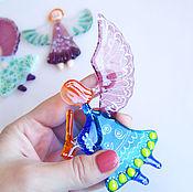 Сувениры и подарки handmade. Livemaster - original item Christmas angel. Fusing. Glass. gifts for the holidays.. Handmade.