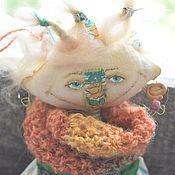 Куклы и игрушки ручной работы. Ярмарка Мастеров - ручная работа Авторская чердачная кукла Путя-ПутеШествеНница. Handmade.