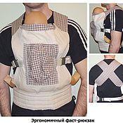 Одежда ручной работы. Ярмарка Мастеров - ручная работа Слинг: эргономичный фаст-рюкзак. Handmade.