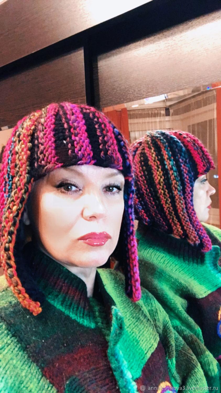 Шапка-парик «КАРЕ ПОД КЛЕОПАТРУ», Шапки, Москва,  Фото №1