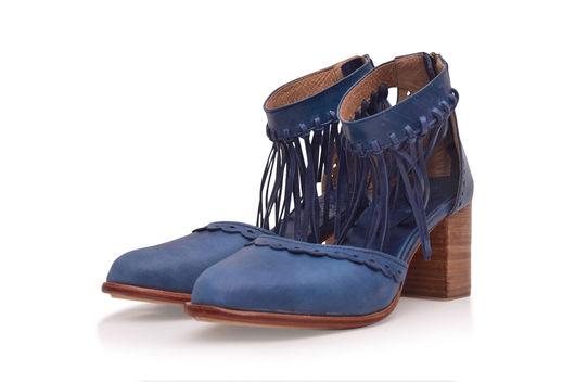 Обувь ручной работы. Ярмарка Мастеров - ручная работа. Купить Hermosa. Женственные кожаные туфли в стиле бохо.. Handmade. путешествия