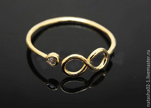 Для украшений ручной работы. Ярмарка Мастеров - ручная работа. Купить Кольцо основа позолота Южная Корея Gold Plated. Handmade.