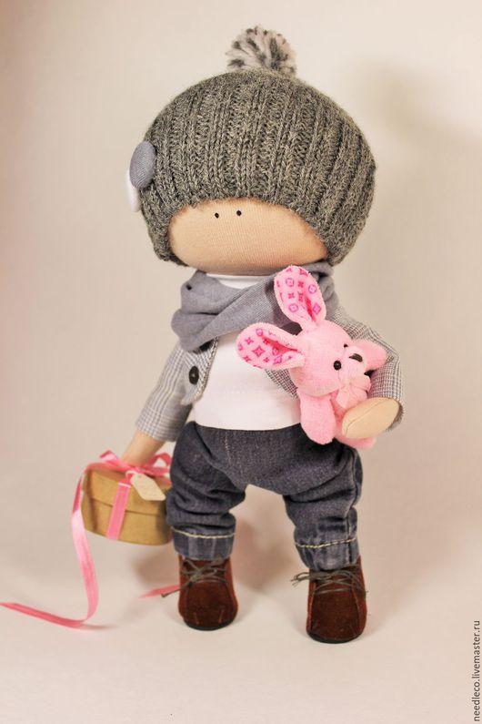 Куклы тыквоголовки ручной работы. Ярмарка Мастеров - ручная работа. Купить кукла тыквоголовка. Handmade. Серый, ручная работа handmade