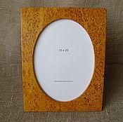 Сувениры и подарки manualidades. Livemaster - hecho a mano Marco de fotos de abedul de carelia 15h20h. Handmade.