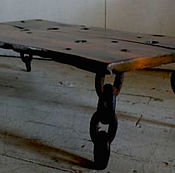 Для дома и интерьера ручной работы. Ярмарка Мастеров - ручная работа Экстравагантный журнальный столик с цепями. Handmade.