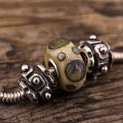 """Украшения ручной работы. Ярмарка Мастеров - ручная работа """"Gear"""" серебряные бусины для браслетов в стиле пандора. Handmade."""
