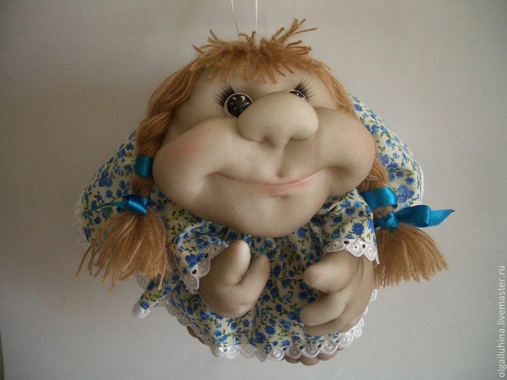 Кукла попик из капрона своими руками мастер класс 6