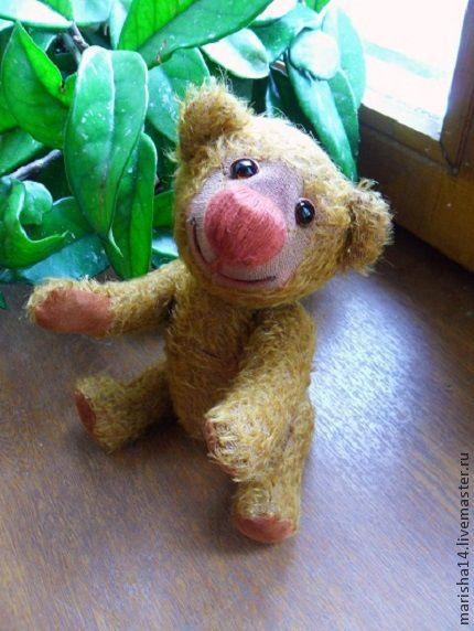 Мишки Тедди ручной работы. Ярмарка Мастеров - ручная работа. Купить Мишка Фунтик (мишка Тедди). Handmade. Мишка