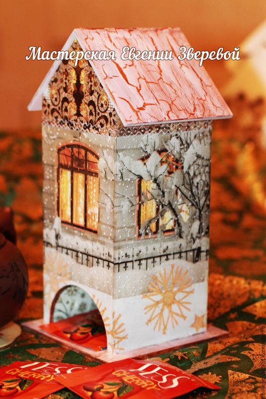 Кухня ручной работы. Ярмарка Мастеров - ручная работа. Купить Чайный домик Свет В Окошке, в технике декупаж. Handmade.