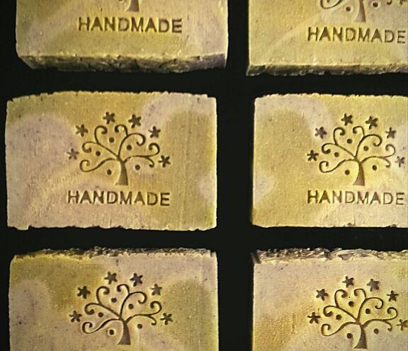 Мыло для жирной кожи с эфирным маслом апельсина, Мыло, Москва, Фото №1