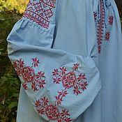 Блузки ручной работы. Ярмарка Мастеров - ручная работа Блуза с Алатырями. Handmade.