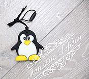 Грызунки, погремушки ручной работы. Ярмарка Мастеров - ручная работа Силиконовый грызунок пингвинёнок. Handmade.