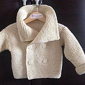 Работы для детей, ручной работы. Ярмарка Мастеров - ручная работа Пальто  для малыша. Handmade.