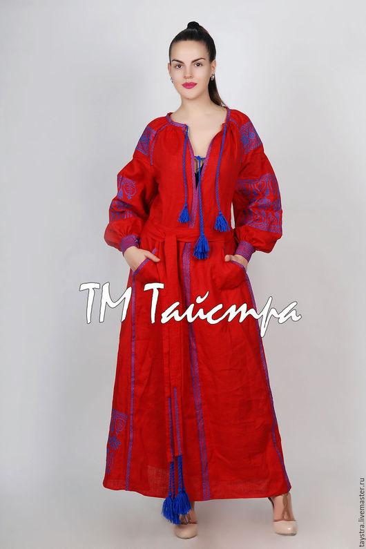Платья ручной работы. Ярмарка Мастеров - ручная работа. Купить Платье бохо вышитое, стиль  Вита Кин,Bohemian,этно. Handmade.