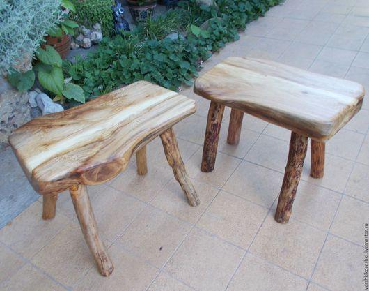 Мебель ручной работы. Ярмарка Мастеров - ручная работа. Купить Скамеечка, табуретка. Handmade. Разноцветный, мебель для дома, скамеечка