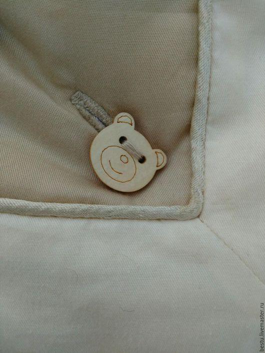 Текстиль, ковры ручной работы. Ярмарка Мастеров - ручная работа. Купить Комплект в кроватку / конверт для новорожденного на выписку (Бегемот). Handmade.