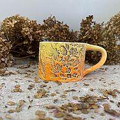Чашки ручной работы. Ярмарка Мастеров - ручная работа Чашка. Handmade.