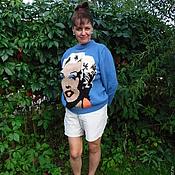 """Одежда ручной работы. Ярмарка Мастеров - ручная работа Вязаный свитер """"Мэрилин"""". Handmade."""