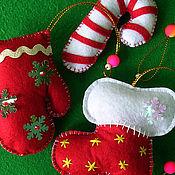 Подарки к праздникам ручной работы. Ярмарка Мастеров - ручная работа Полосатый леденец. Handmade.