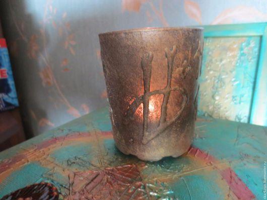 Эзотерические аксессуары ручной работы. Ярмарка Мастеров - ручная работа. Купить Волшебная  свеча для  защиты. Handmade. Синий, рунический амулет
