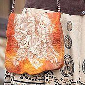 """Сумки и аксессуары ручной работы. Ярмарка Мастеров - ручная работа Сумочка нано-войлок """"Wild Rose"""". Handmade."""