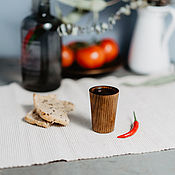Посуда handmade. Livemaster - original item Glass wooden Siberian Fir #R21. Handmade.