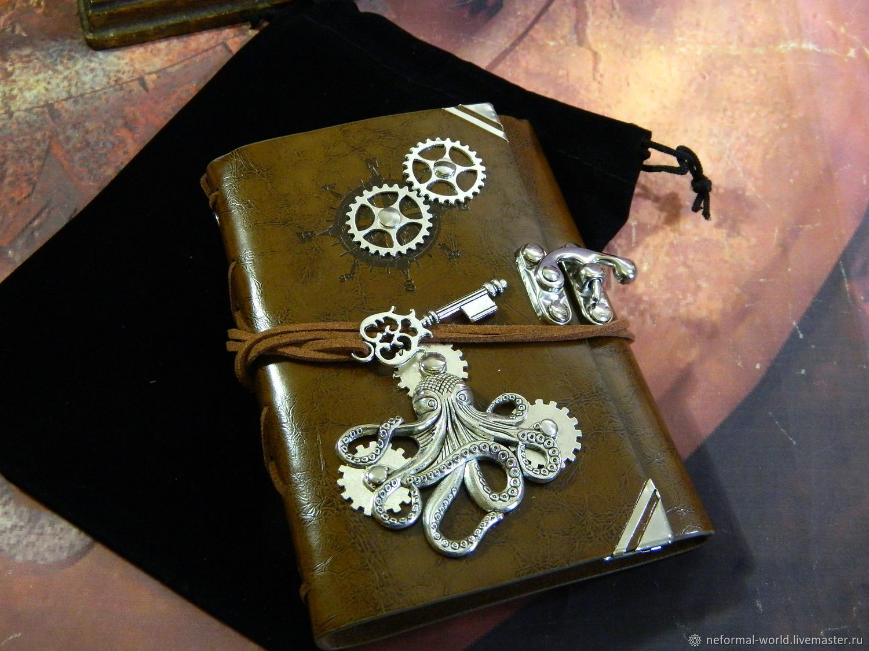 Notepad steampunk 'FANTASY STEAMPUNK', Notebooks, Saratov,  Фото №1