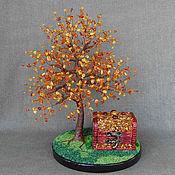 handmade. Livemaster - original item Tree from Baltic amber, with the box. Handmade.