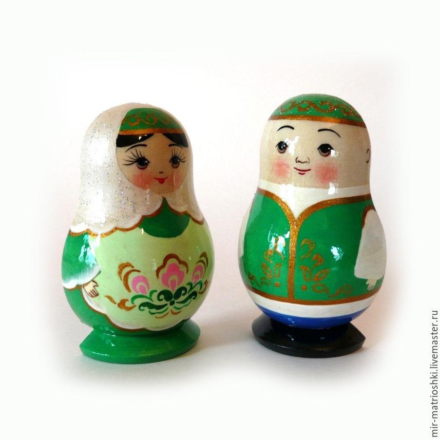 matryoshka magnet 'Tatars', Dolls1, Sarov,  Фото №1