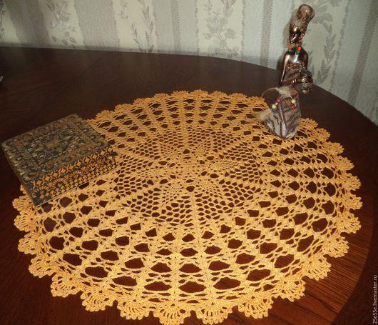 Текстиль, ковры ручной работы. Ярмарка Мастеров - ручная работа. Купить Салфетка жёлтая.. Handmade. Желтый, интерьер кухни