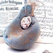 """Для дома и интерьера ручной работы. Ярмарка Мастеров - ручная работа Natural magic stone of the interior """"Chicken God"""" buy. Handmade."""