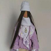 Куклы и игрушки ручной работы. Ярмарка Мастеров - ручная работа Текстильная кукла Тильда. Октябрина.. Handmade.