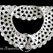 Аксессуары handmade. Livemaster - original item Knitted collar No. 2. Handmade.
