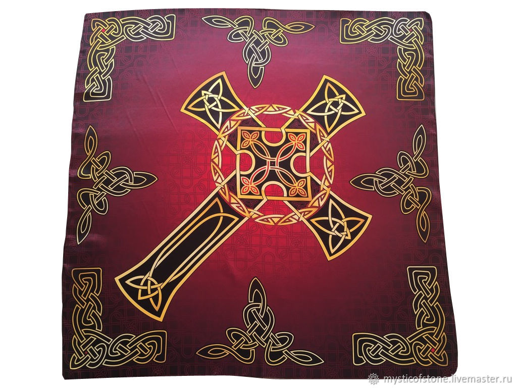 Handkerchief Shawl Cape Celtic cross Strength and power, Ritual attributes, Moscow,  Фото №1