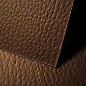 Кардсток LEATHERLIKE классик, коричневый