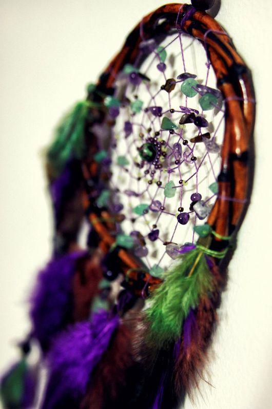 """Ловцы снов ручной работы. Ярмарка Мастеров - ручная работа. Купить Ловец снов """"Lavander & Mint"""". Handmade."""