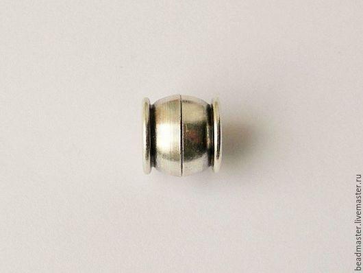 Для украшений ручной работы. Ярмарка Мастеров - ручная работа. Купить Замок магнитный, отверстие 10 мм (ЗЖ10). Handmade.