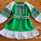 Русский стиль handmade. Livemaster - original item Russian dress for girls