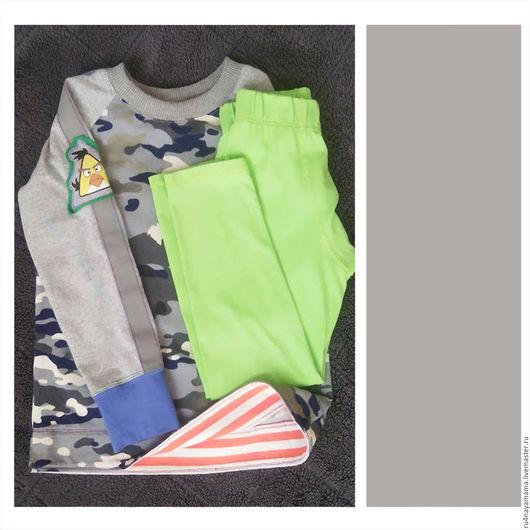 Одежда для мальчиков, ручной работы. Ярмарка Мастеров - ручная работа. Купить Комплект для мальчика. Handmade. Комбинированный, комплект для мальчика
