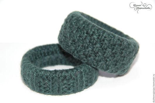 Браслеты ручной работы. Ярмарка Мастеров - ручная работа. Купить Вязанные браслеты (2 шт) Ирландия. Handmade. Браслет