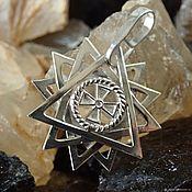Украшения handmade. Livemaster - original item Erzhamma double-sided star, classic. Handmade.
