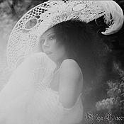 Аксессуары ручной работы. Ярмарка Мастеров - ручная работа Кружевная шляпа от Olga Lace. Handmade.