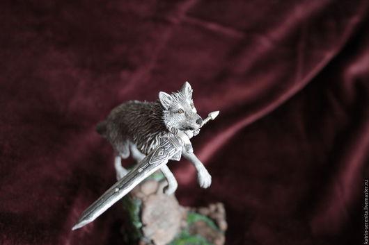 Подарки для мужчин, ручной работы. Ярмарка Мастеров - ручная работа. Купить Фигурка Сиф Великий волк Dark Souls повтор. Handmade.