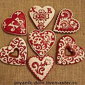 Сувениры и подарки ручной работы. Ярмарка Мастеров - ручная работа прянички подарочные. Handmade.