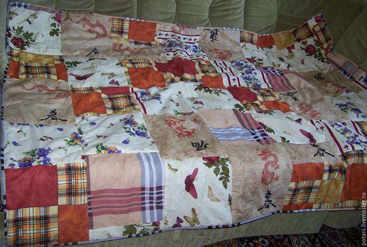 Текстиль, ковры ручной работы. Ярмарка Мастеров - ручная работа. Купить Одеяло. Handmade. Одеяло, одеяло лоскутное, комбинированный, сказка