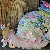 Куклы и игрушки ручной работы. Ярмарка Мастеров - ручная работа Улитка в стиле Тильда. Handmade.