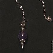 Фен-шуй и эзотерика handmade. Livemaster - original item Amethyst 40mm Gemstone Ball Pendulum Chakra Pendant. Handmade.