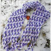 Аксессуары ручной работы. Ярмарка Мастеров - ручная работа Меланжевый шарфик.. Handmade.